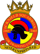 2465 (Luton Icknield) Air Training Corps (ATC)/Air Cadets Squadron badge. Click to go to the 2465 (Luton Icknield) Air Training Corps (ATC)/Air Cadets homepage