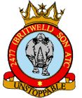2477 (Britwell) Air Training Corps (ATC)/Air Cadets Squadron badge. Click to go to the 2477 (Britwell) Air Training Corps (ATC)/Air Cadets homepage