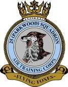 25 (Parkwood) Air Training Corps (ATC)/Air Cadets Squadron badge. Click to go to the 25 (Parkwood) Air Training Corps (ATC)/Air Cadets homepage