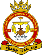 2521 (Oban High School) Air Training Corps (ATC)/Air Cadets Squadron badge. Click to go to the 2521 (Oban High School) Air Training Corps (ATC)/Air Cadets homepage
