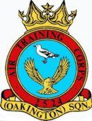 2524 (Oakington) Air Training Corps (ATC)/Air Cadets Squadron badge. Click to go to the 2524 (Oakington) Air Training Corps (ATC)/Air Cadets homepage