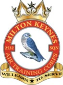 2532 (Milton Keynes) Air Training Corps (ATC)/Air Cadets Squadron badge. Click to go to the 2532 (Milton Keynes) Air Training Corps (ATC)/Air Cadets homepage