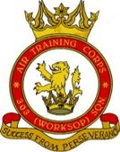 303 (Worksop) Air Training Corps (ATC)/Air Cadets Squadron badge. Click to go to the 303 (Worksop) Air Training Corps (ATC)/Air Cadets homepage