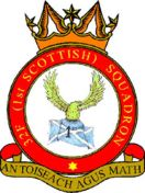 32F (1st Glasgow) Air Training Corps (ATC)/Air Cadets Squadron badge. Click to go to the 32F (1st Glasgow) Air Training Corps (ATC)/Air Cadets homepage