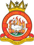 332 (High Wycombe) Air Training Corps (ATC)/Air Cadets Squadron badge. Click to go to the 332 (High Wycombe) Air Training Corps (ATC)/Air Cadets homepage