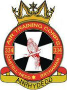 334 (Neath) Air Training Corps (ATC)/Air Cadets Squadron badge. Click to go to the 334 (Neath) Air Training Corps (ATC)/Air Cadets homepage