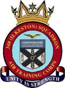348 (Ilkeston) Air Training Corps (ATC)/Air Cadets Squadron badge. Click to go to the 348 (Ilkeston) Air Training Corps (ATC)/Air Cadets homepage