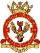 39F (Barnes) Air Training Corps (ATC)/Air Cadets Squadron badge. Click to go to the 39F (Barnes) Air Training Corps (ATC)/Air Cadets homepage