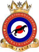 41F (Taunton & District) Air Training Corps (ATC)/Air Cadets Squadron badge. Click to go to the 41F (Taunton & District) Air Training Corps (ATC)/Air Cadets homepage