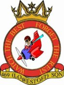 469 (Lowestoft) Air Training Corps (ATC)/Air Cadets Squadron badge. Click to go to the 469 (Lowestoft) Air Training Corps (ATC)/Air Cadets homepage