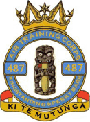 487 (Kingstanding & Perry Barr) Air Training Corps (ATC)/Air Cadets Squadron badge. Click to go to the 487 (Kingstanding & Perry Barr) Air Training Corps (ATC)/Air Cadets homepage