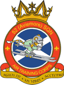 52 (Aviemore) Air Training Corps (ATC)/Air Cadets Squadron badge. Click to go to the 52 (Aviemore) Air Training Corps (ATC)/Air Cadets homepage