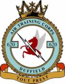 620 (Duffield) Air Training Corps (ATC)/Air Cadets Squadron badge. Click to go to the 620 (Duffield) Air Training Corps (ATC)/Air Cadets homepage