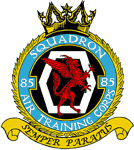 85 (Enfield & Southgate) Air Training Corps (ATC)/Air Cadets Squadron badge. Click to go to the 85 (Enfield & Southgate) Air Training Corps (ATC)/Air Cadets homepage