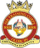 888 (Oldbury) Air Training Corps (ATC)/Air Cadets Squadron badge. Click to go to the 888 (Oldbury) Air Training Corps (ATC)/Air Cadets homepage