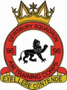 96 (Dewsbury) Air Training Corps (ATC)/Air Cadets Squadron badge. Click to go to the 96 (Dewsbury) Air Training Corps (ATC)/Air Cadets homepage