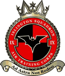 9F (Islington) Air Training Corps (ATC)/Air Cadets Squadron badge. Click to go to the 9F (Islington) Air Training Corps (ATC)/Air Cadets homepage