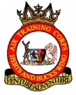 Hertfordshire & Buckinghamshire Wing Air Training Corps (ATC)/Air Cadets Wing badge. Click to go to the Hertfordshire & Buckinghamshire Wing Air Training Corps (ATC)/Air Cadets Wing homepage