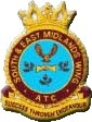 South and East Midlands Wing Air Training Corps (ATC)/Air Cadets Wing badge. Click to go to the South and East Midlands Wing Air Training Corps (ATC)/Air Cadets Wing homepage